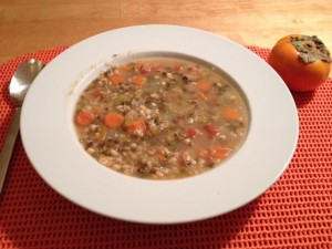 Sprouted Mung Bean Soup